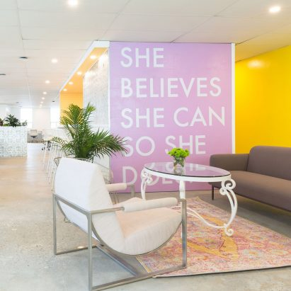 Make Lemonade female co-working spaces