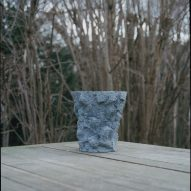 Vases designed for Copenhagen's Noma restaurant look like lava rocks