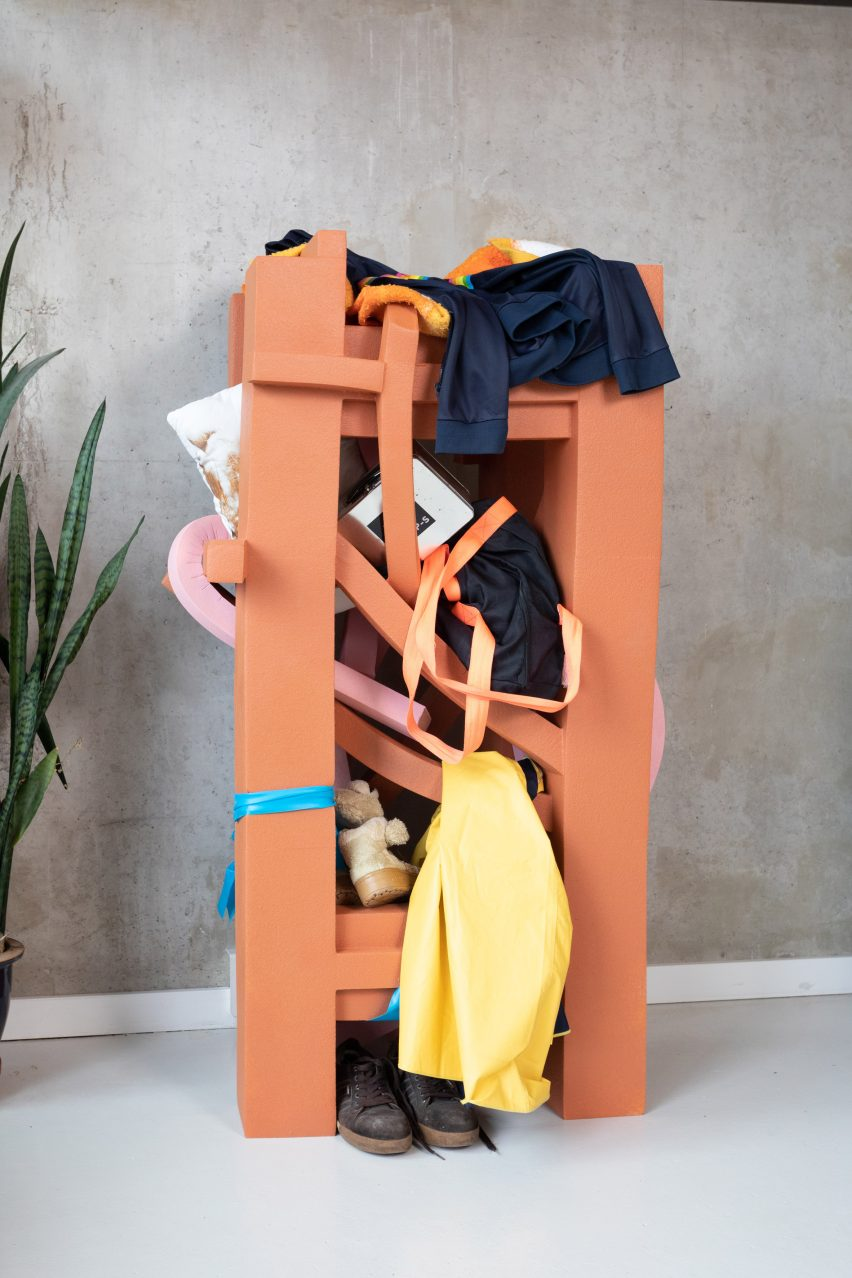 Joel Blanco's Messless furniture encourages users to welcome messiness in the home