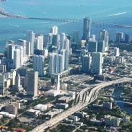 Miami from above