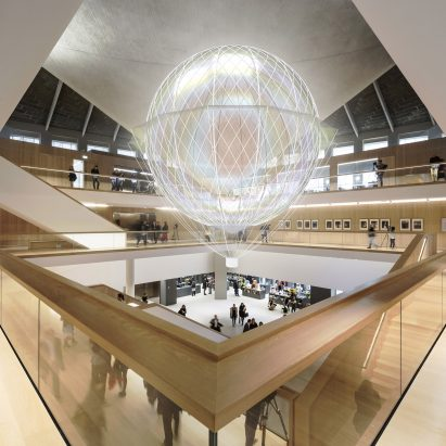 """Mind-powered"" airship to inhabit The Design Museum"