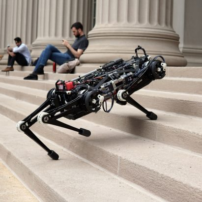 El robot ciego Cheetah 3 de MIT puede navegar sin sensores o cámaras