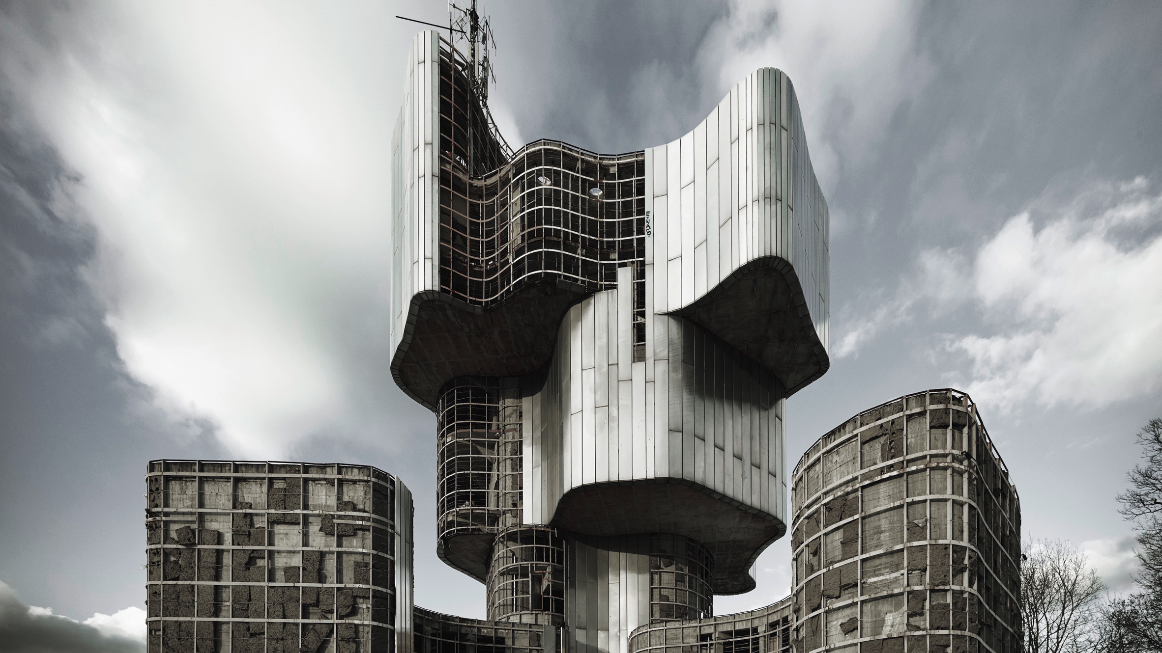dezeen.com - Dan Howarth - Valentin Jeck photographs Yugoslavia's concrete architecture for MoMA