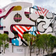 Miami parking facility Museum Garage combines several exterior designs