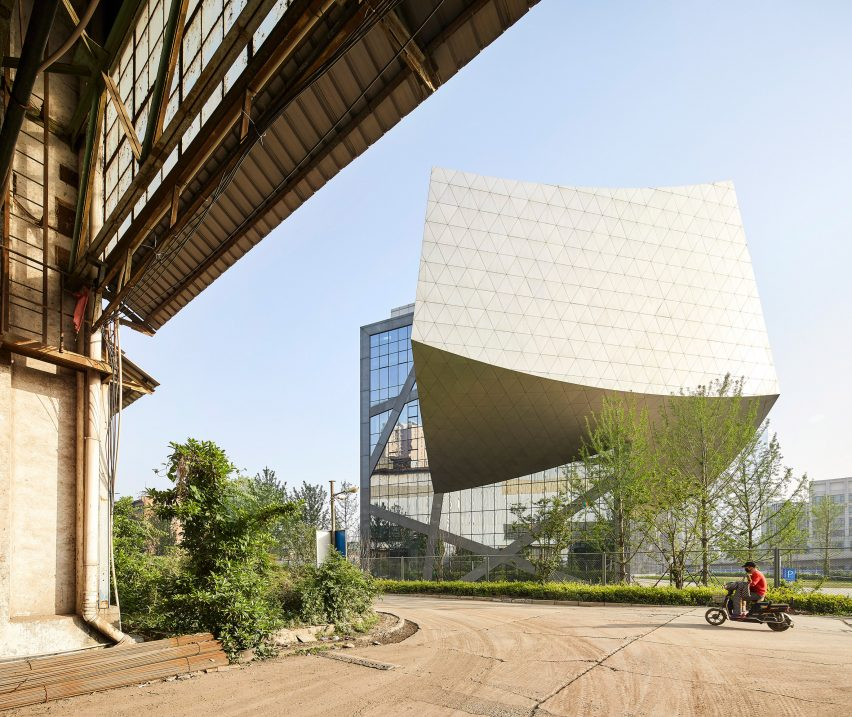 Museum of Zhang Zhidong by Studio Libeskind