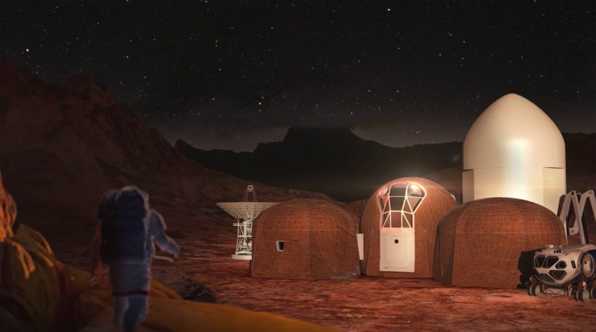 NASA announces winners of competition to design 3D-printed habitat for Mars