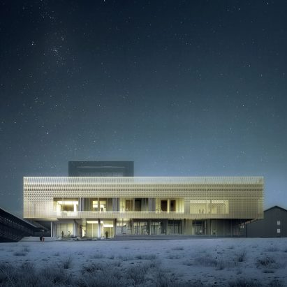Nuuk psychiatric clinic by White Architekter