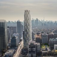 Studio Gang proposes honeycomb-like One Delisle skyscraper for Toronto