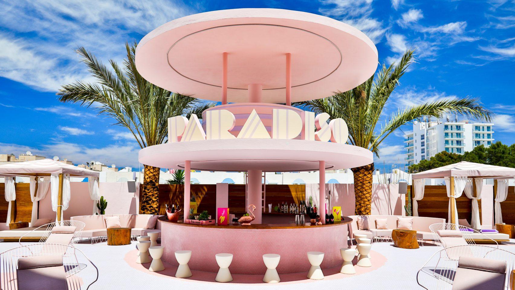 Конфетный Paradiso Ibiza Art Hotel