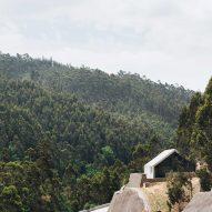 Pedro Geraldes creates concrete control centre overlooking Portuguese dam