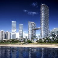 Gensler designs pair of skyscrapers on Sri Lankan coast