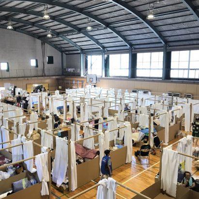 Shigeru Ban Japan disaster relief 2018