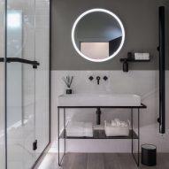 Dornbracht's tiny home spa fits into micro apartments
