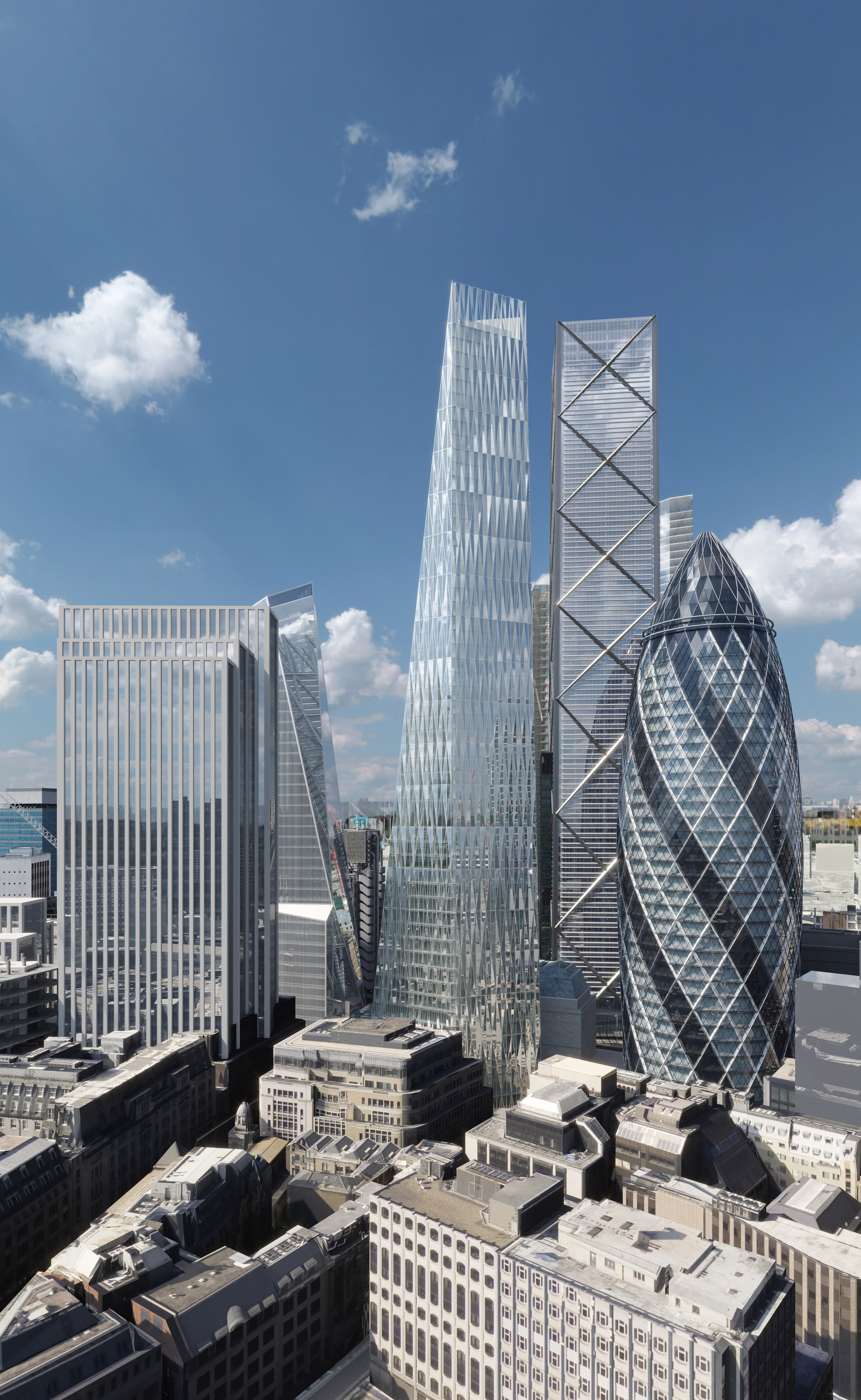 SOM-designed Diamond tower gets approved for London
