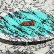 Carla Baz debuts resin and marble furniture in Beirut