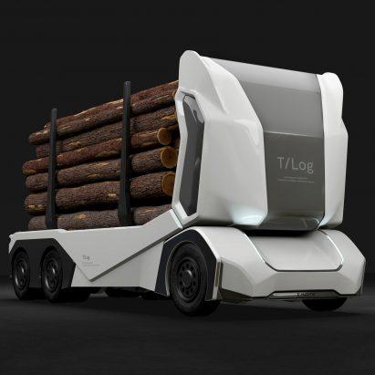 Einride revela un camión de registro completamente eléctrico sin conductor