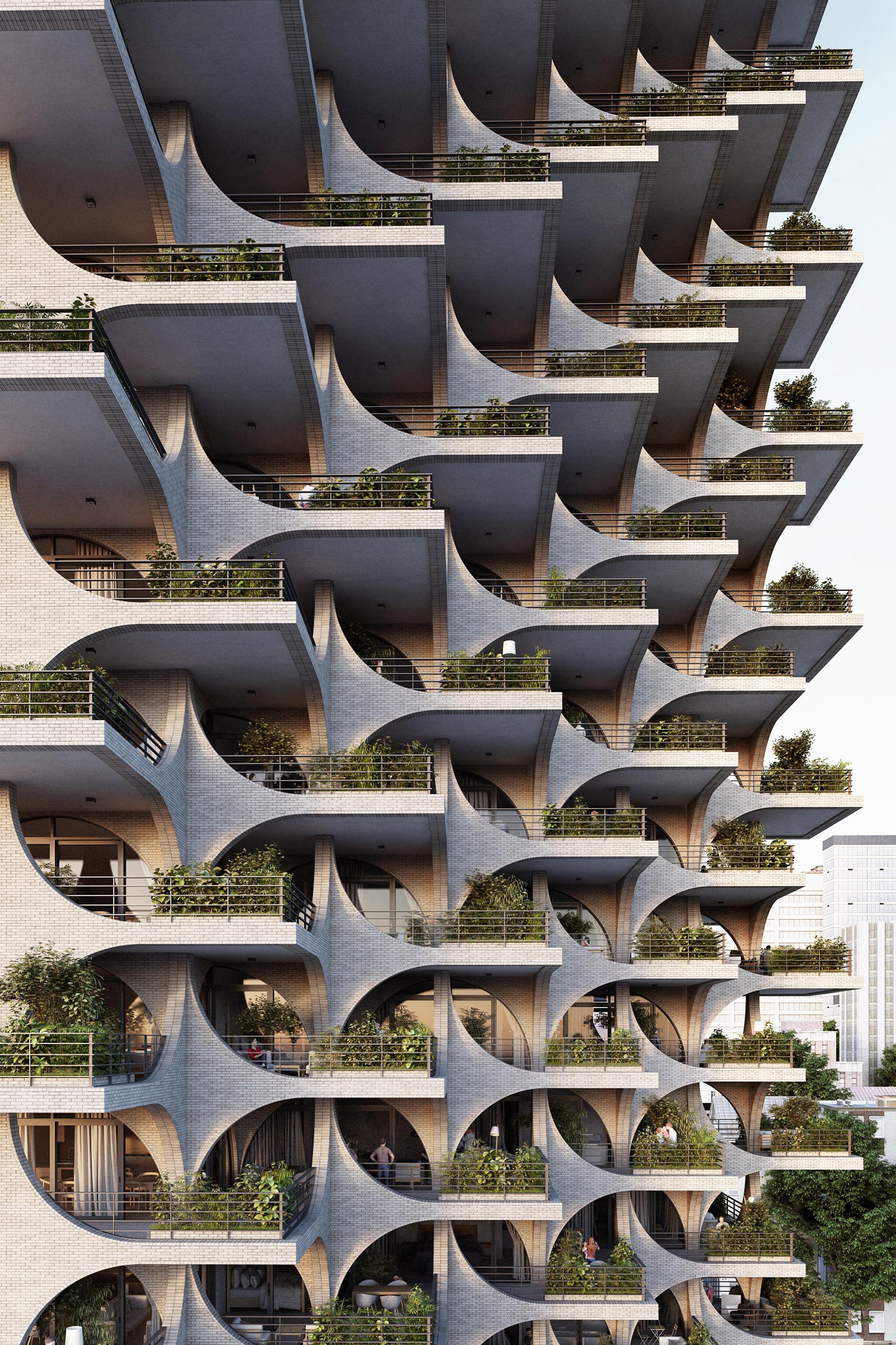 Tel Aviv Arcades by Penda