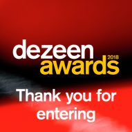 Dezeen Awards hits 3,500 entries