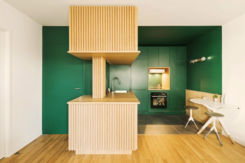 Beau The Green Kitchen By Atelier Sagitta