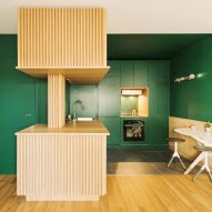 The Green Kitchen by Atelier Sagitta