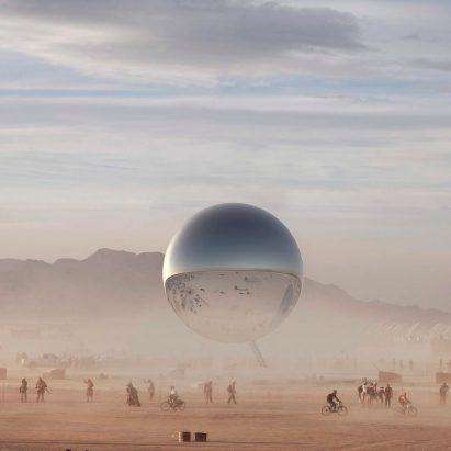 The Orb by Bjarke Ingels and Jakob Lange