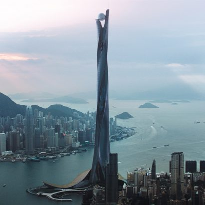 The Pearl from blockbuster movie Skyscraper