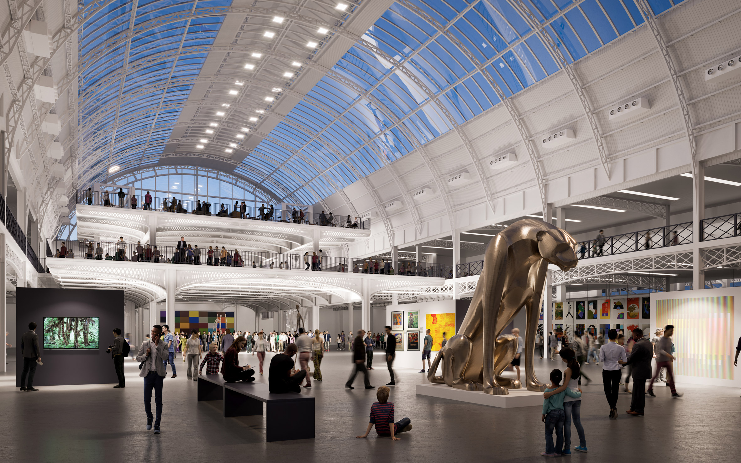 Thomas Heatherwick's vision for London's Olympia revealed in new renderings