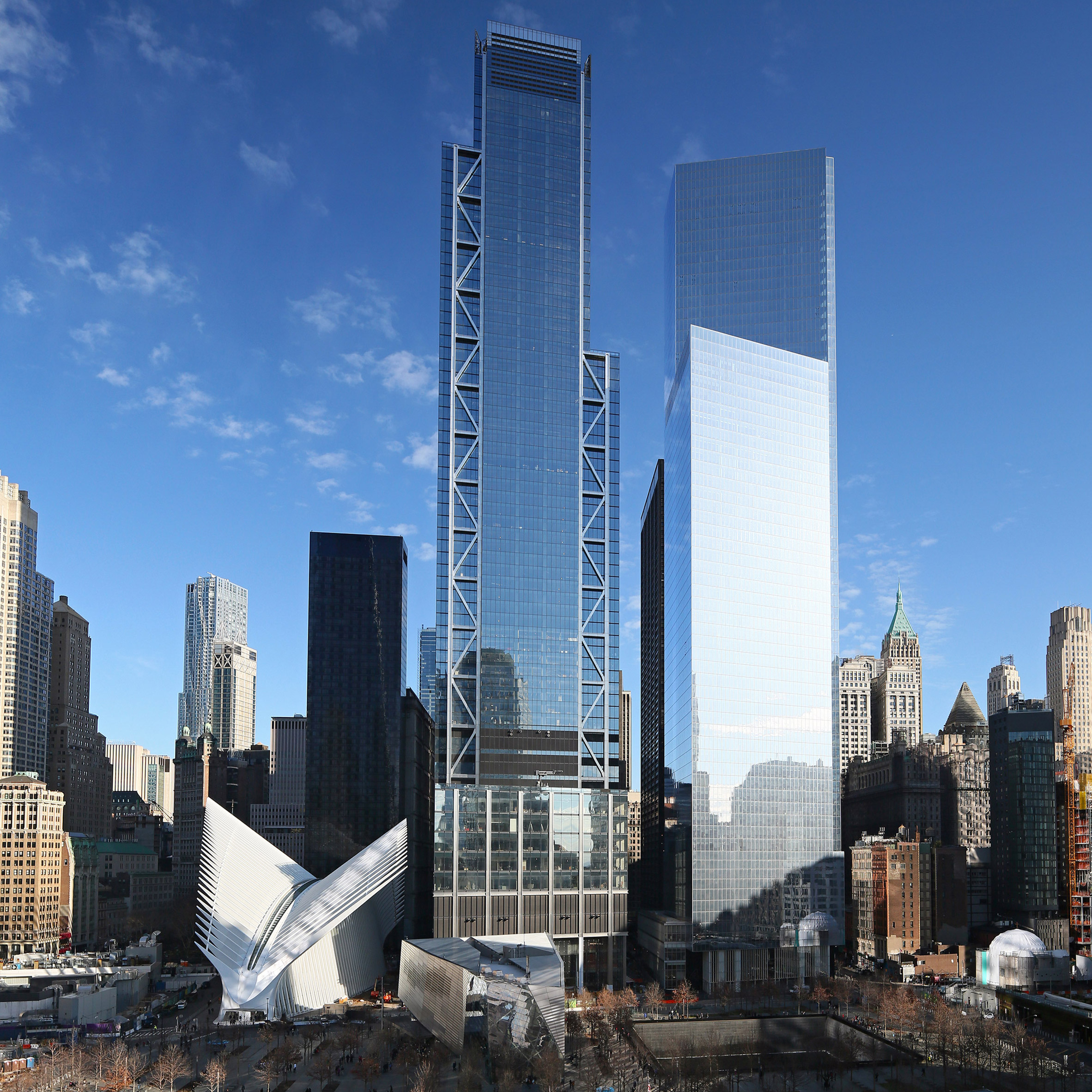 Top 10 skyscrapers: Three World Trade Center, USA, by Roger Stirk Harbour + Partners