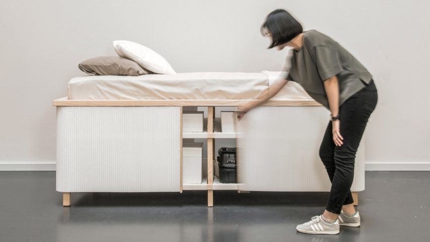 Yesul Jang designs Tiny Home Bed for compact living