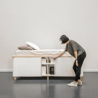 Yesul Jang Designs Storage Bed For Compact Living