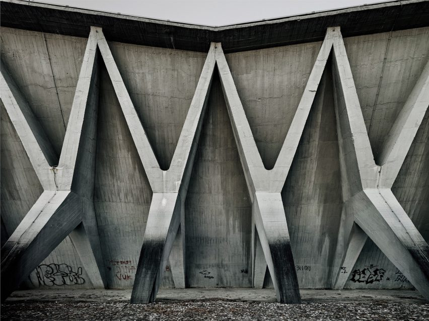 Valentin Jeck photographs for MoMA's Toward a Concrete Utopia Architecture in Yugoslavia