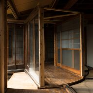 Atsuko Mochida creates revolving floor and walls in abandoned house