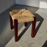 Wicker and aluminium furniture contrasts traditional and modern design
