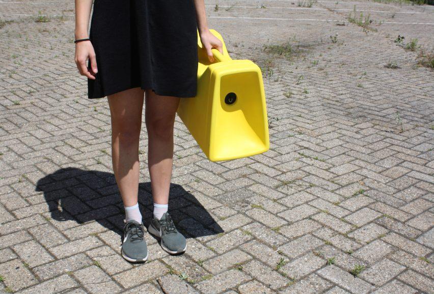 Yellow Spot by Design Academy Eindhoven graduada Elisa Otañez