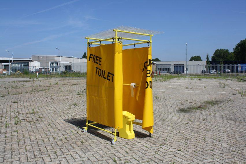 Yellow Spot by Design Academy Eindhoven graduate Elisa Otañez
