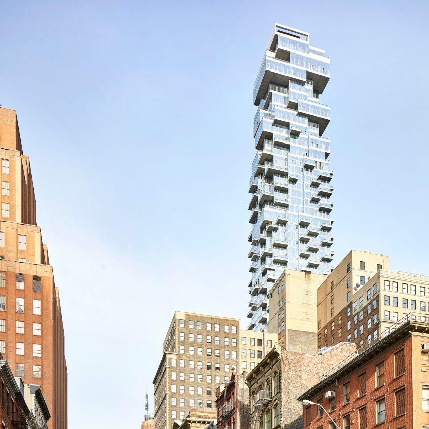 56 Leonard by Herzog & de Meuron, New York City, USA
