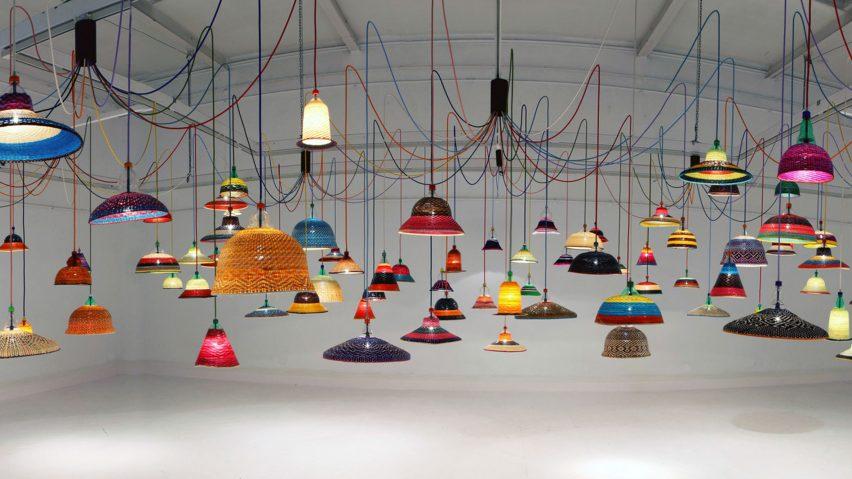 PET Lamps by Álvaro Catalán de Ocón