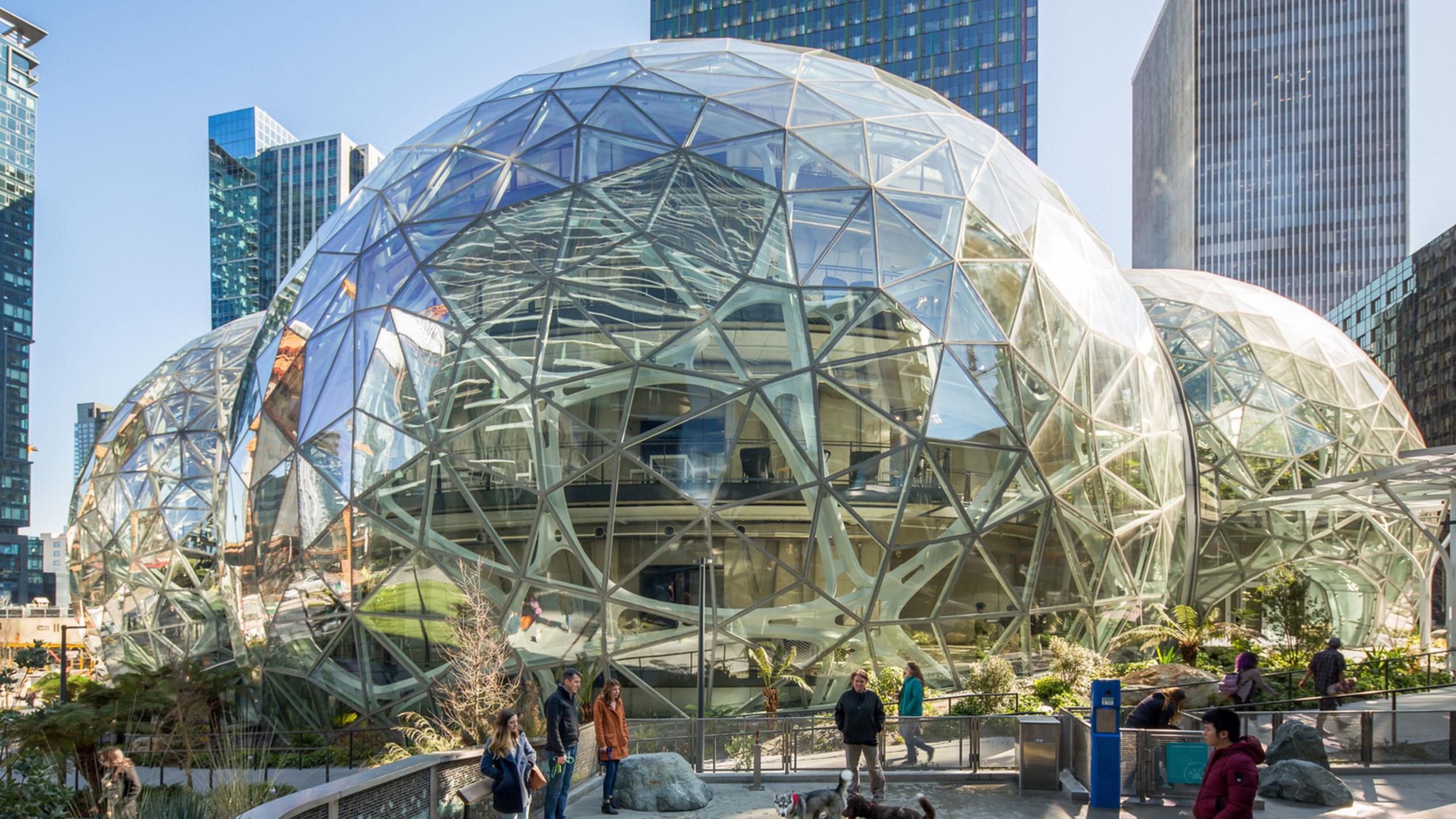 Amazon Spheres, Seattle, USA, by NBBJ