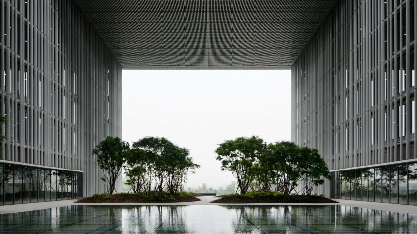 Amorepacific Headquarters, Seoul, Korea, by David Chipperfield Architects