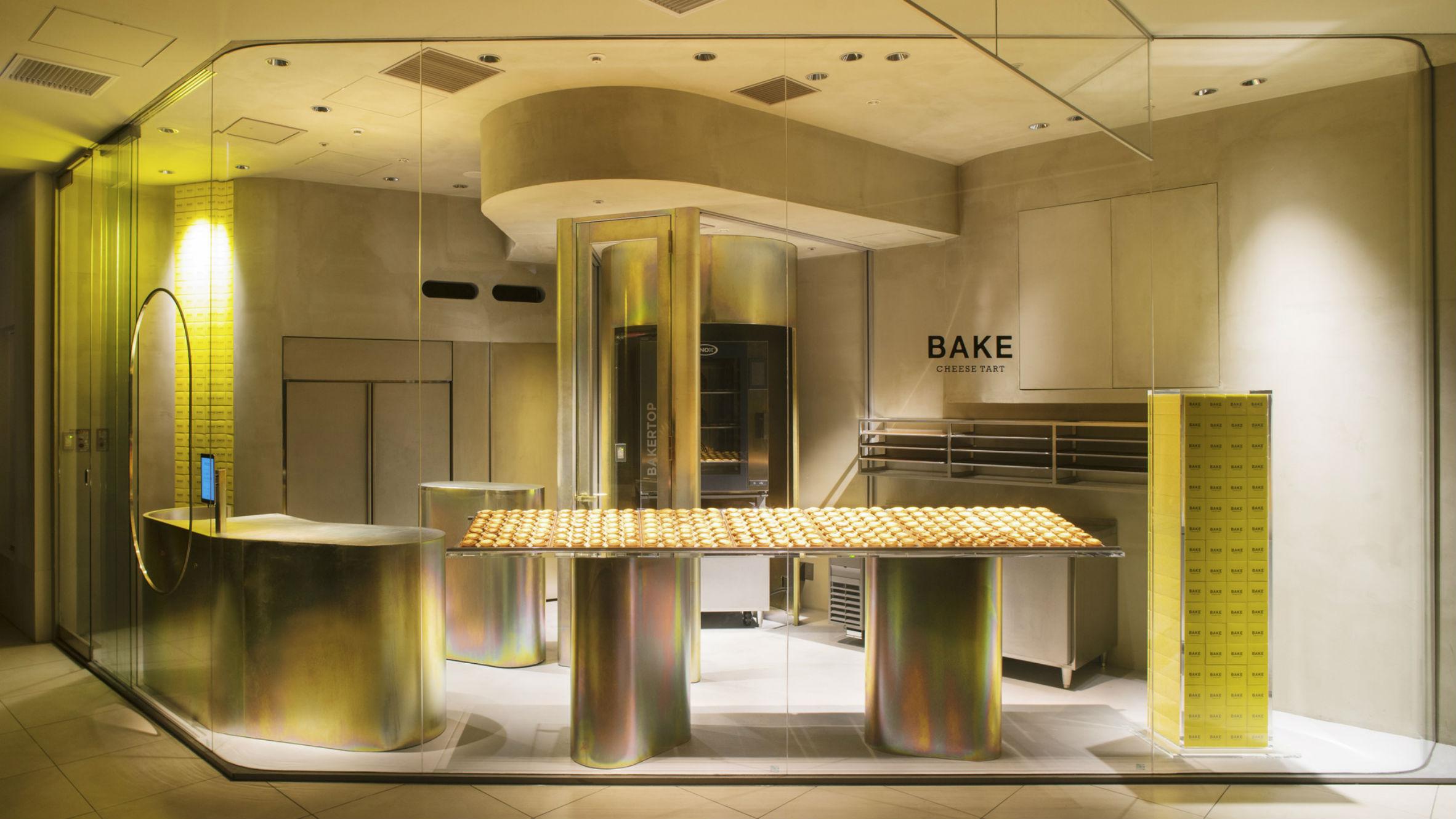 Bake Cheese Tart Shop, Abeno-Ku, Japan, Fumitaka Suzuki from Yagyug Douguten
