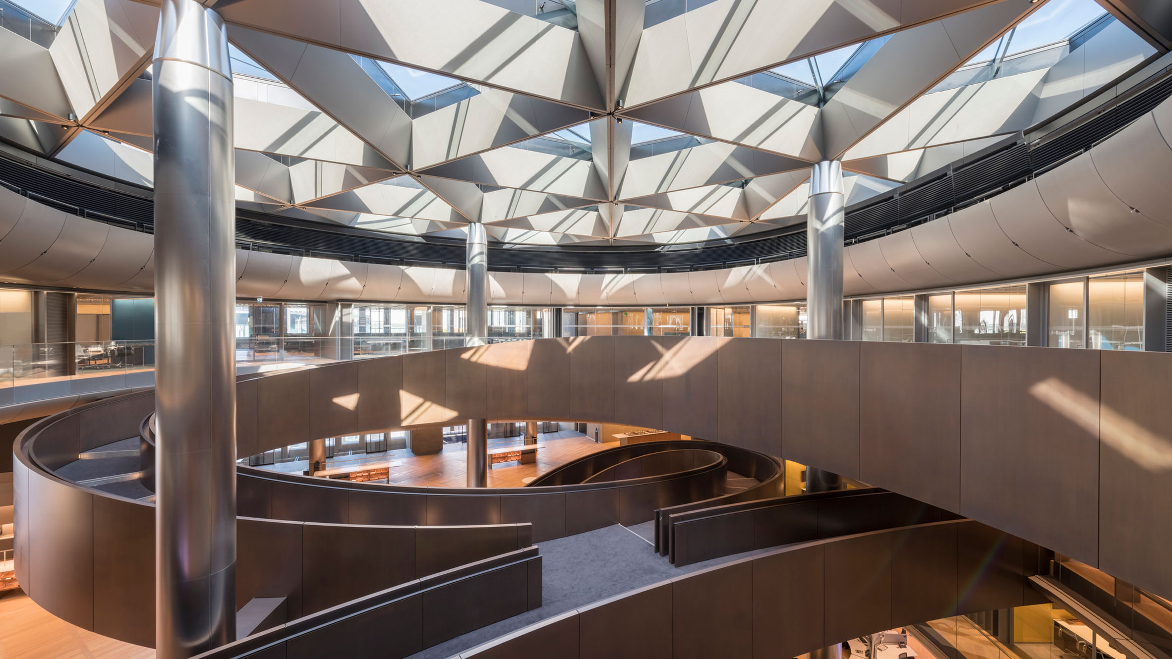 Bloomberg, London, UK, by Foster + Partners