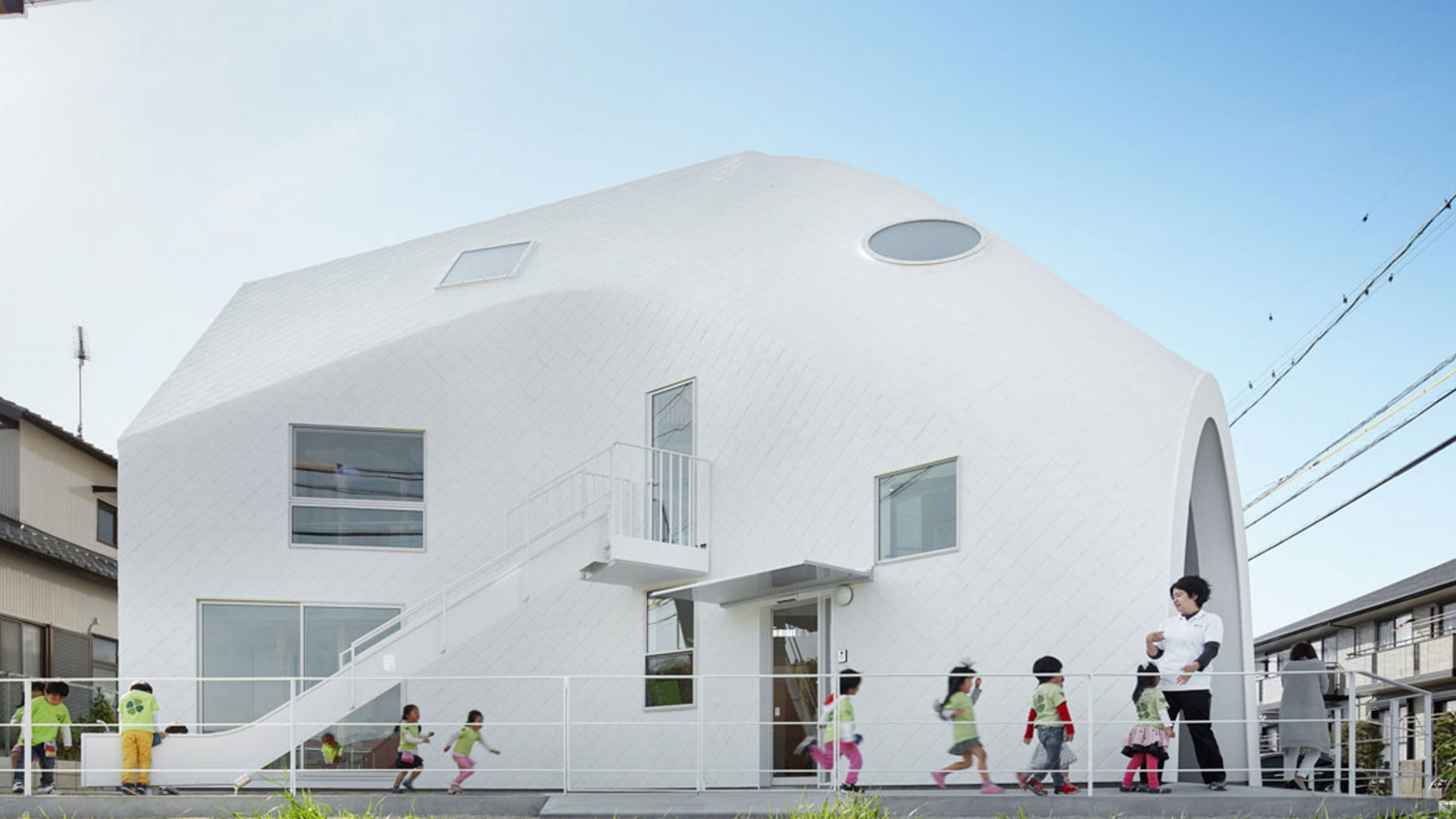 Clover House, Aichi-ken, Japan, by MAD