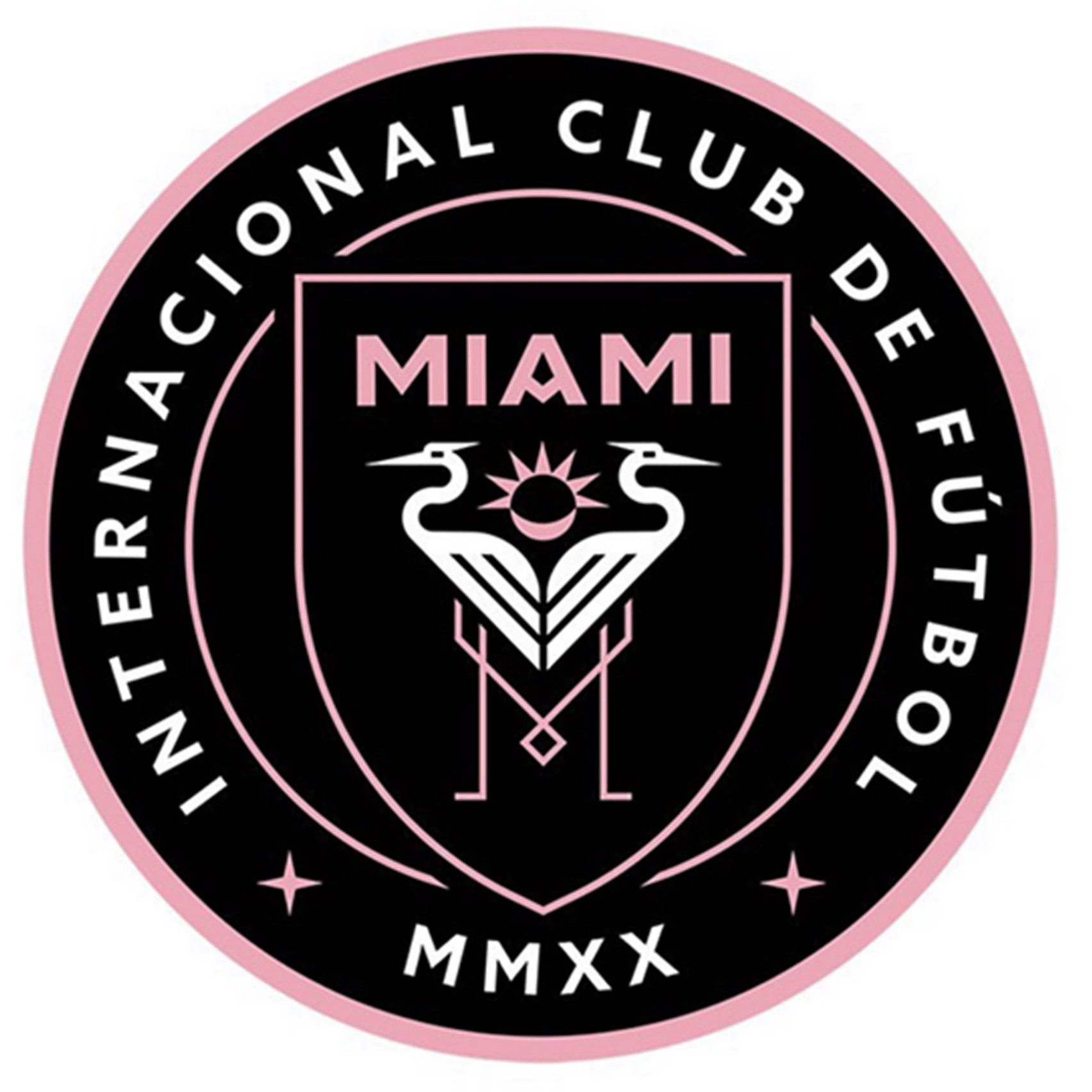 Football Crest Believed To Be For David Beckham S Miami Club
