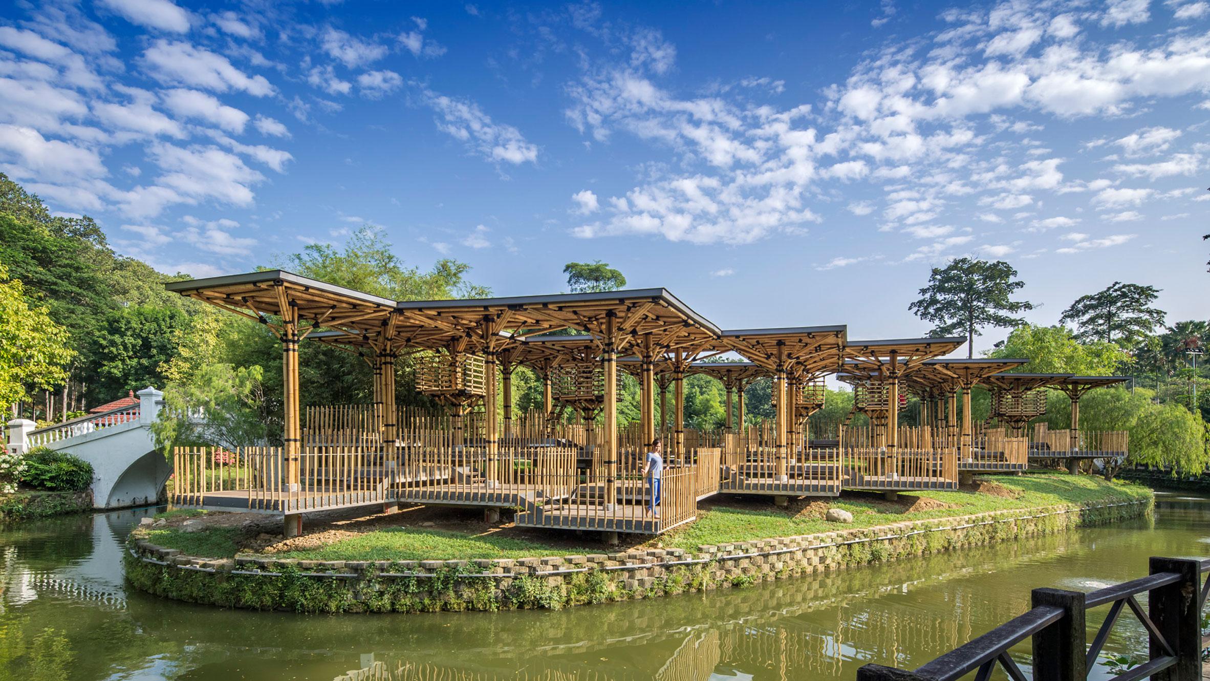 The Bamboo Playhouse by Eleena Jamil Architect