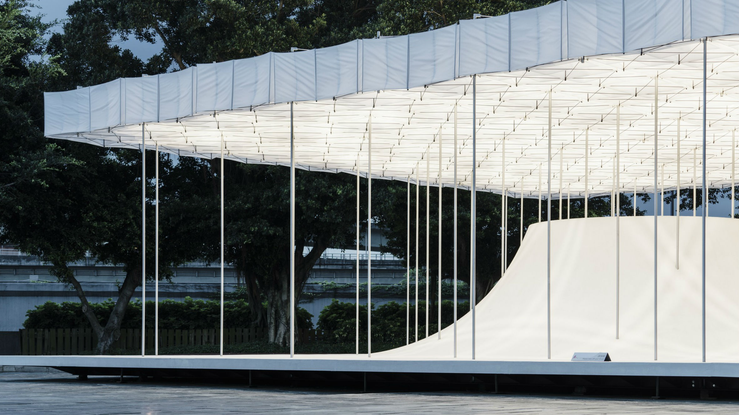 Floating Pavilion, Taipei, Taiwan, by Shen Ting Tseng Architects