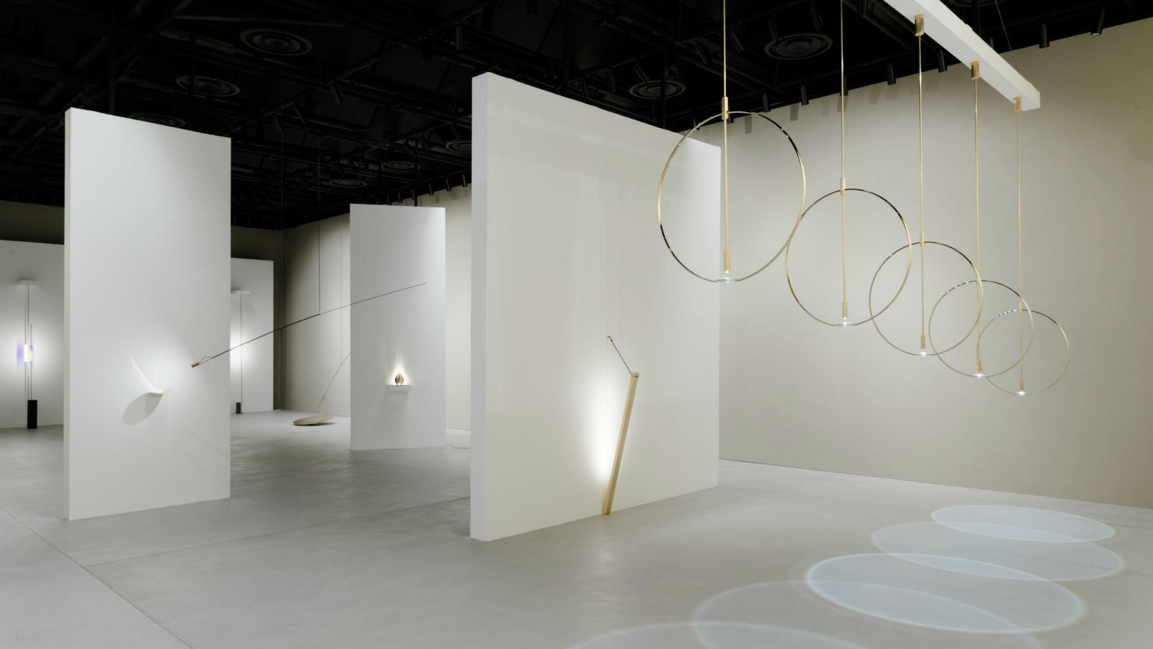 Wire Ring Lamp, by Formafantasma