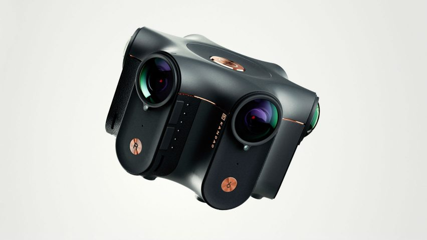 Kandao Obsidian 3D 360-degree VR Camera, by JU&KE creative design