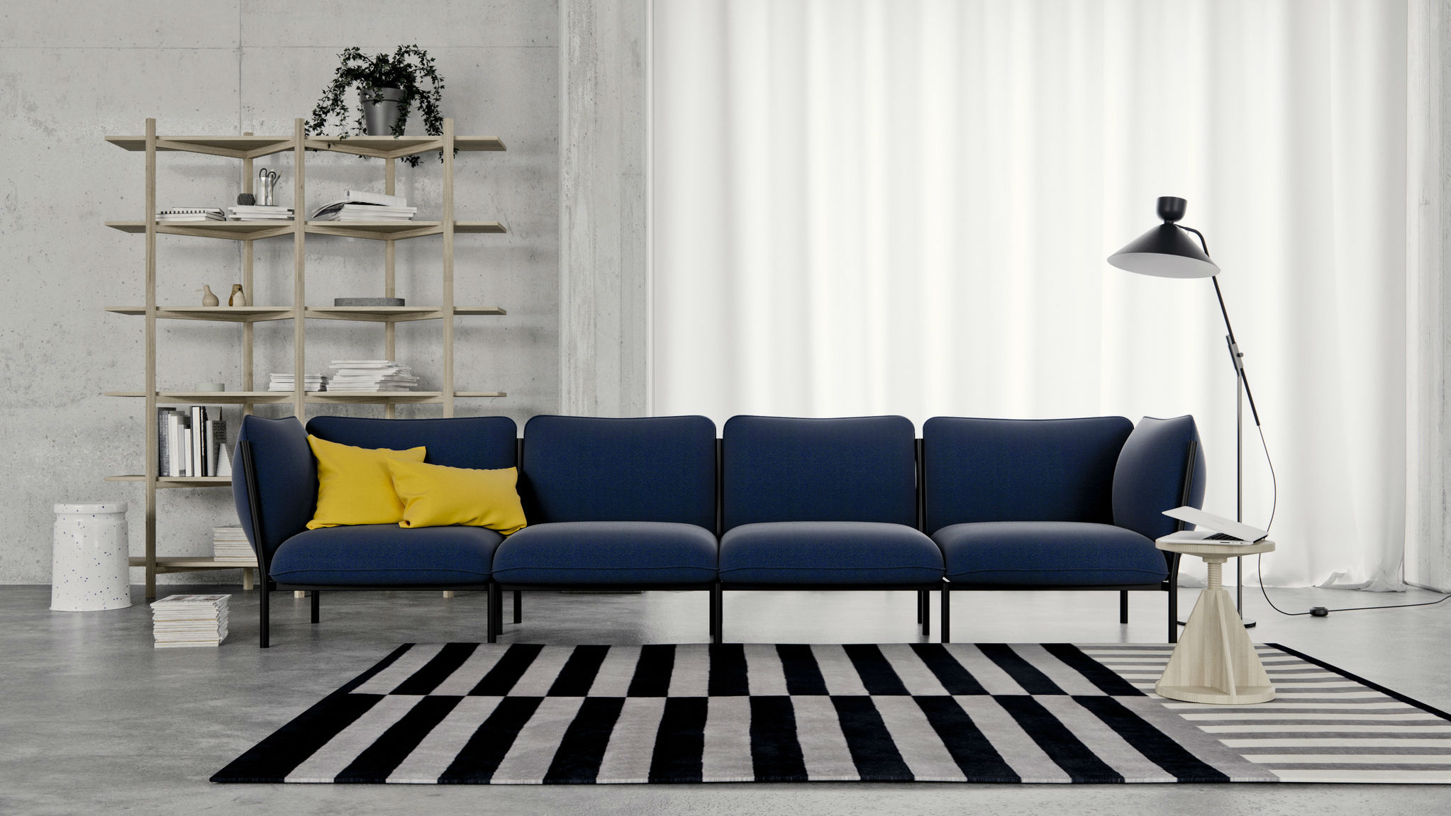 Kumo Modular Sofa, by Anderssen & Voll for Hem