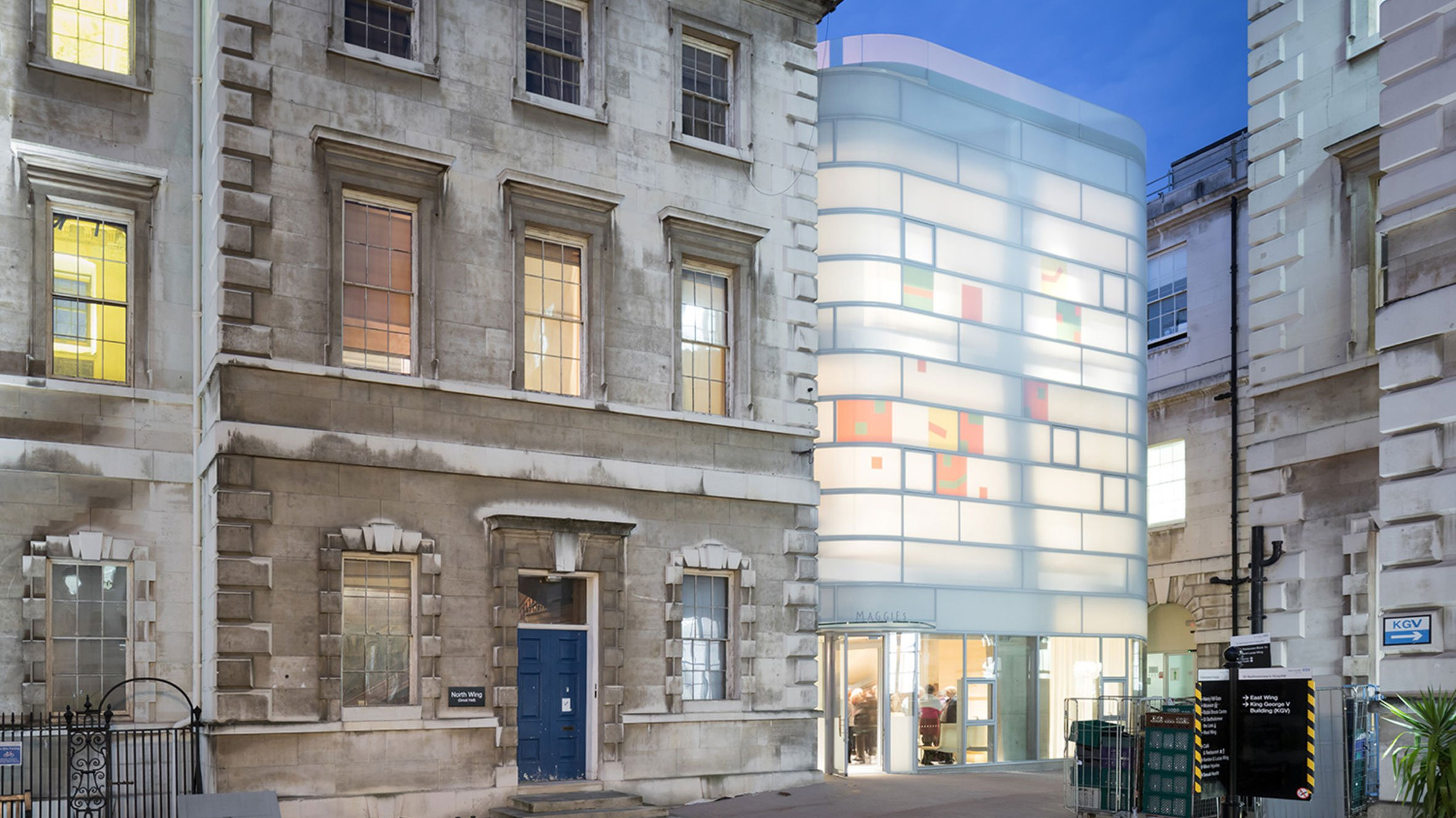 Maggie's Centre Barts, London, UK, by Steven Holl Architects