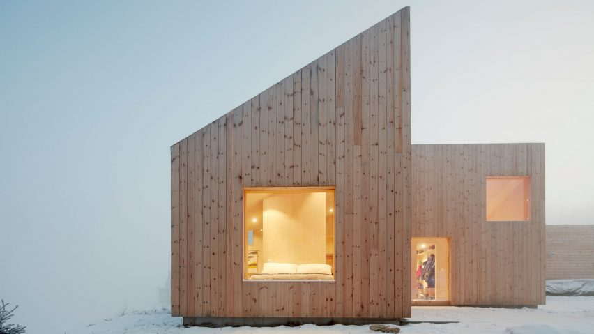 Mylla Hytte, Jevnaker, Norway, by Mork-Ulnes Architects